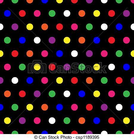 Dots clipart rainbow Dots Stock Polka of Illustrations