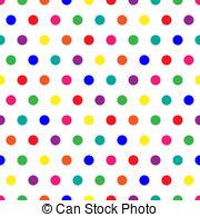 Dots clipart rainbow #6