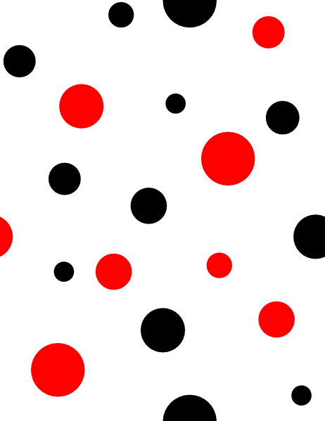 Dots clipart red circle Clip  Art Black this