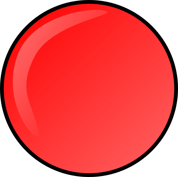 Dots clipart red circle At Clker Button this art