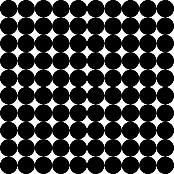Dots clipart square 10 office Square Dots Grid