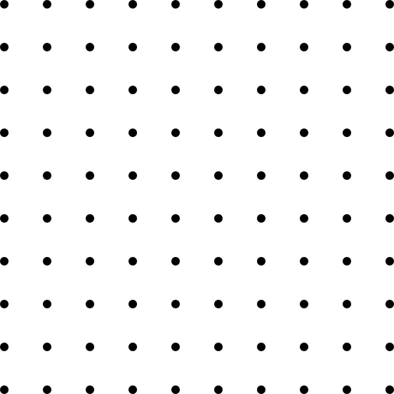 Dots clipart square 02 office Square Dots Grid