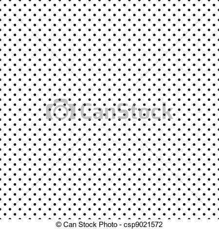 Dots clipart tiny dot White Polka of Vector csp9021572