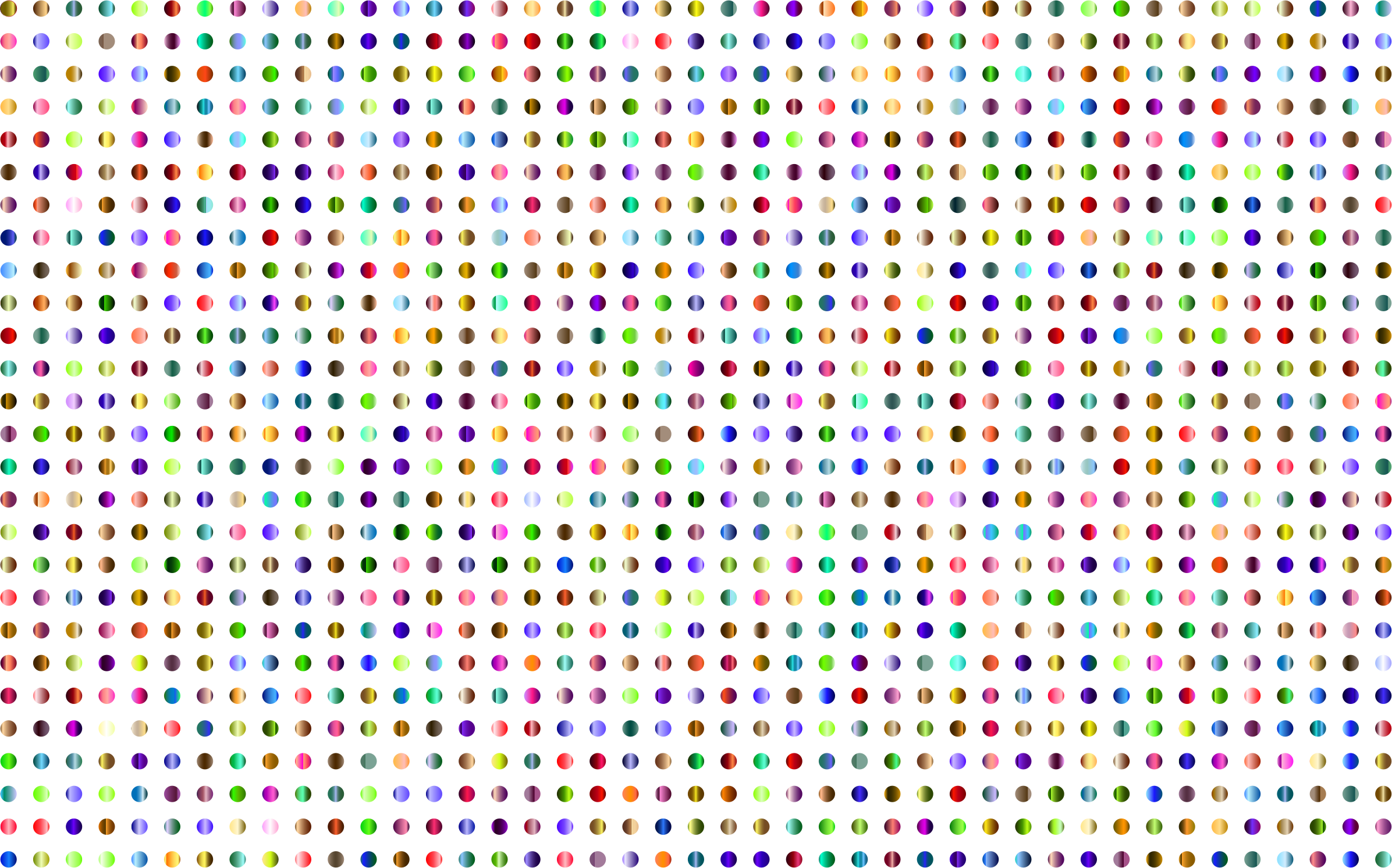 Dots clipart transparent Polka background 2392x1492 www png