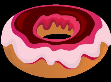 Doughnut clipart Clip & to Public Glazed