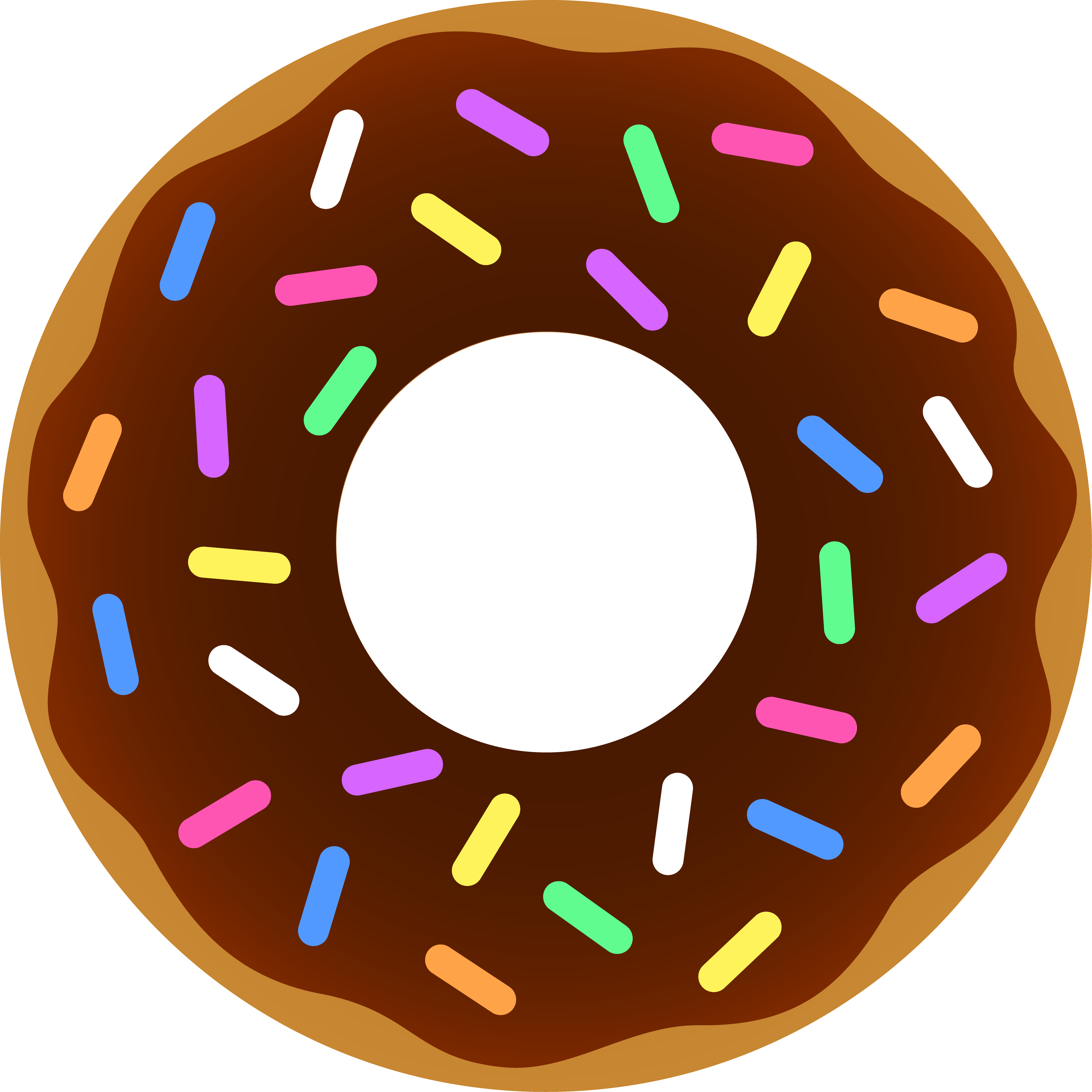Word clipart donut Free Free Clipart Donut pw