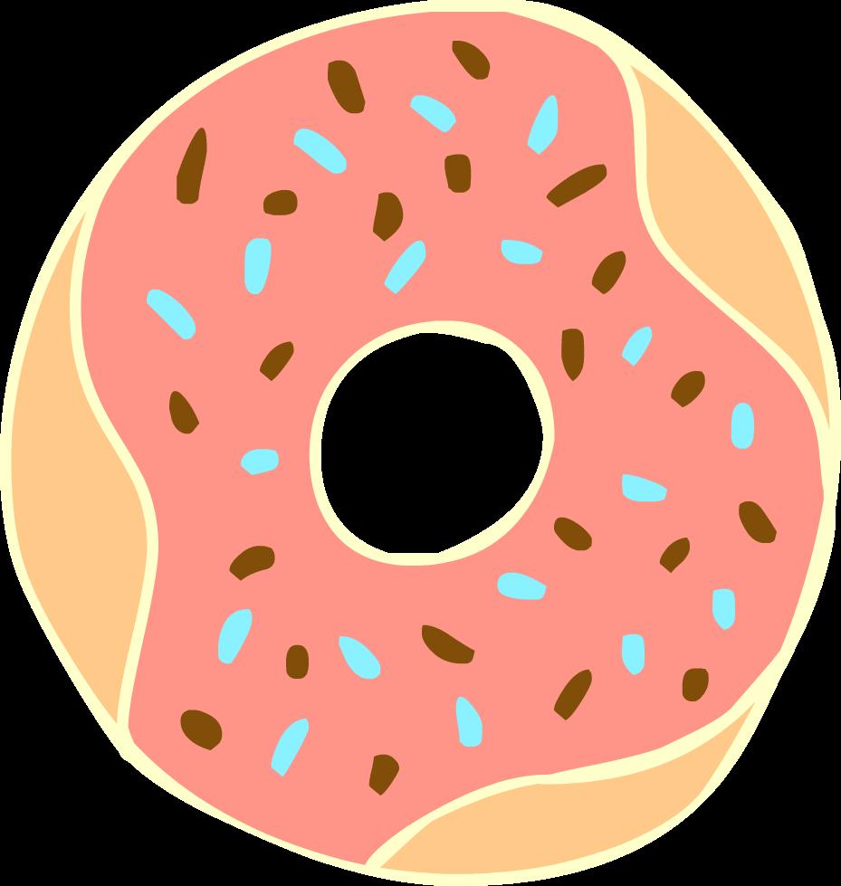 Doughnut clipart Free Clipart Clipart Art Donut