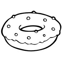White clipart donut Images best on Pinterest DONUTS