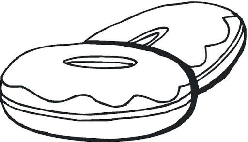 White clipart donut Art Donut Clipart Clipart Clip