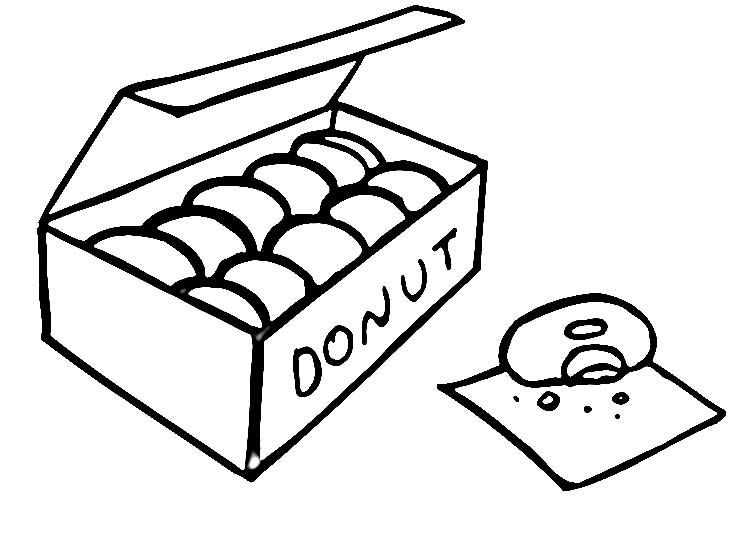 White clipart donut Clipart Art And Donut Donut