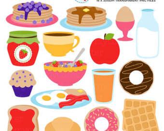 Blueberry Muffin clipart small cake Clipart of pancakes Food Clipart