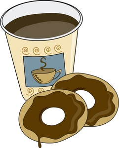 Bagel clipart coffee and Clipart Coffee Clipart Clipart Coffee