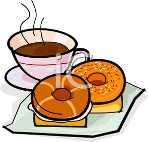 Bagel clipart coffee and And Clipart collection coffee Coffee