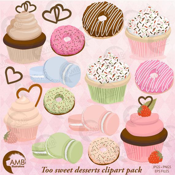 Vanilla Cupcake clipart bake sale Sale Bake  Clipart Macaroon