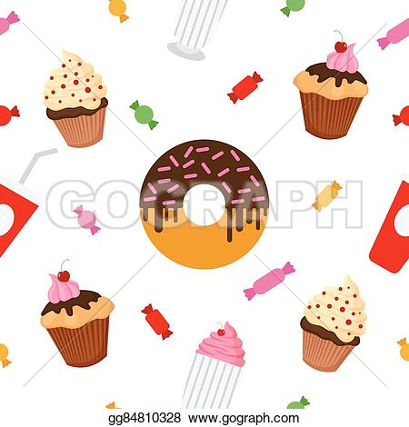 Muffin clipart candies Food Sweet celebration  food
