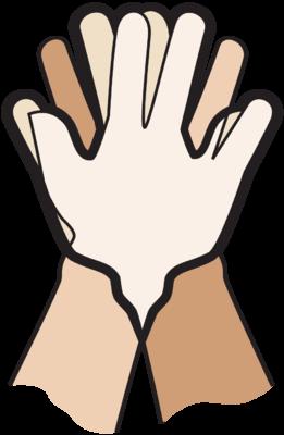 Hands Hands com Dove Dove