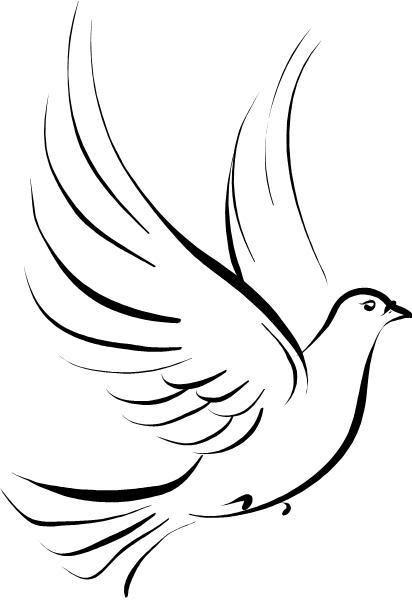 Peace Dove clipart memory #3