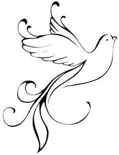 Peace Dove clipart memory #2