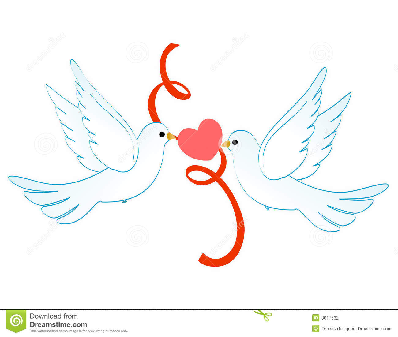 Pigeon clipart love pigeon Outline  Cards Invitations Invitations