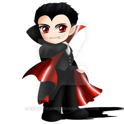 Dracula clipart chibi ExoroDesigns Dracula DeviantArt Dracula on