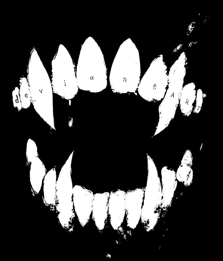 Wolf clipart fang Fang Cliparts Vampire Clipart Zone