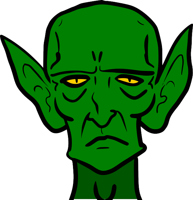 Pointed Ears clipart elven Monster clip evil ear art