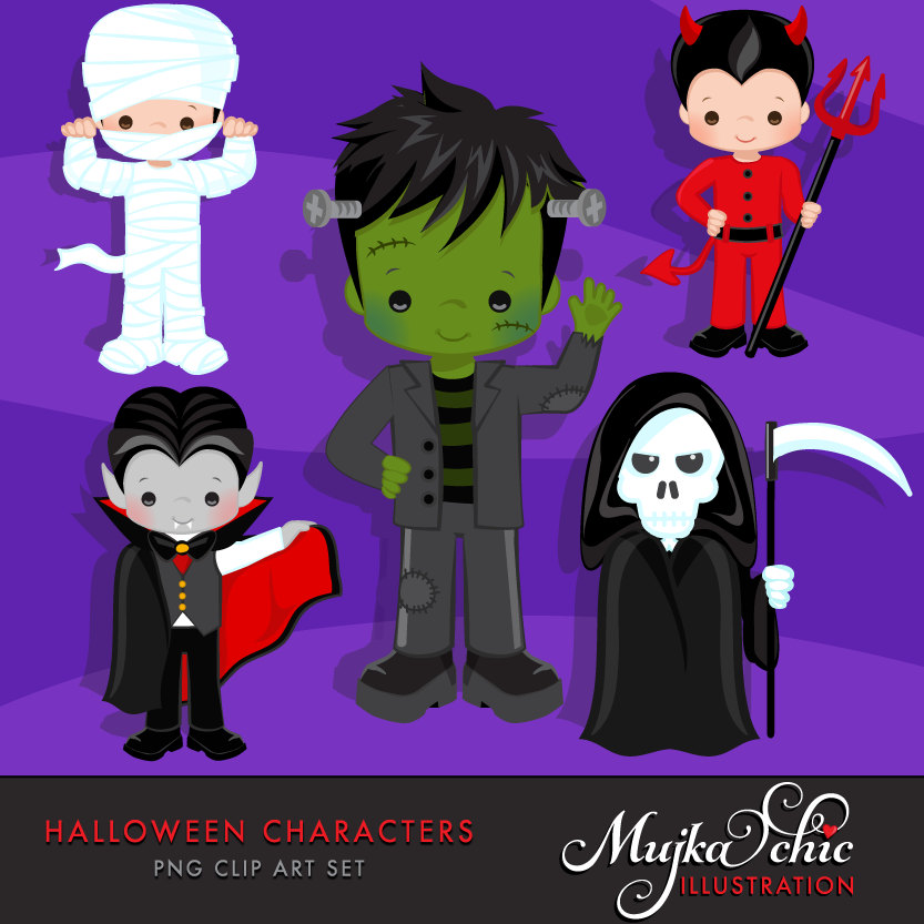 Dracula clipart halloween character Frankenstein Frankenstein Dracula… graphics Halloween