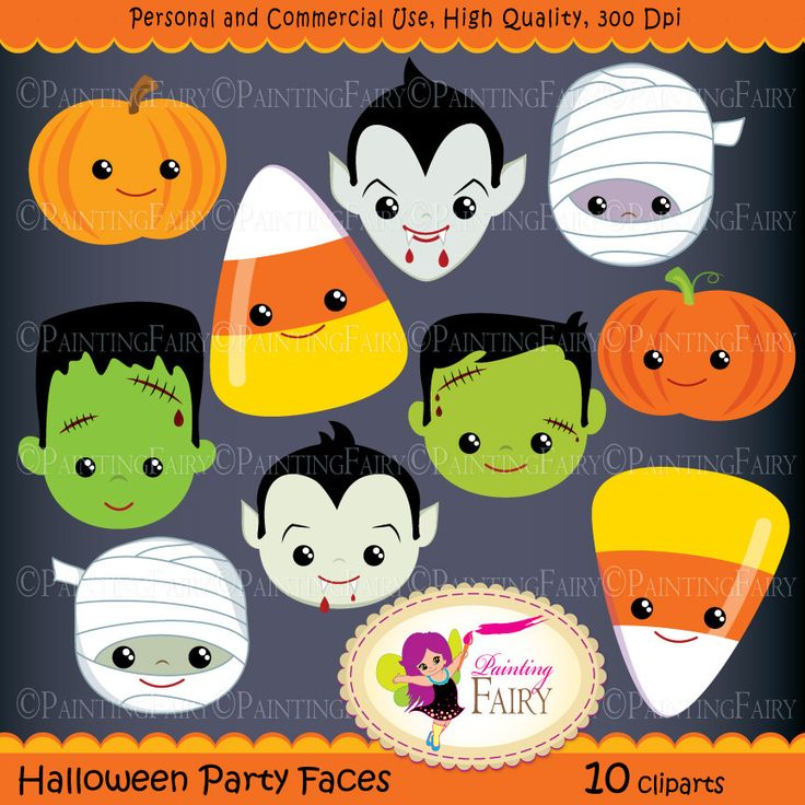 Mummy clipart cute halloween #13