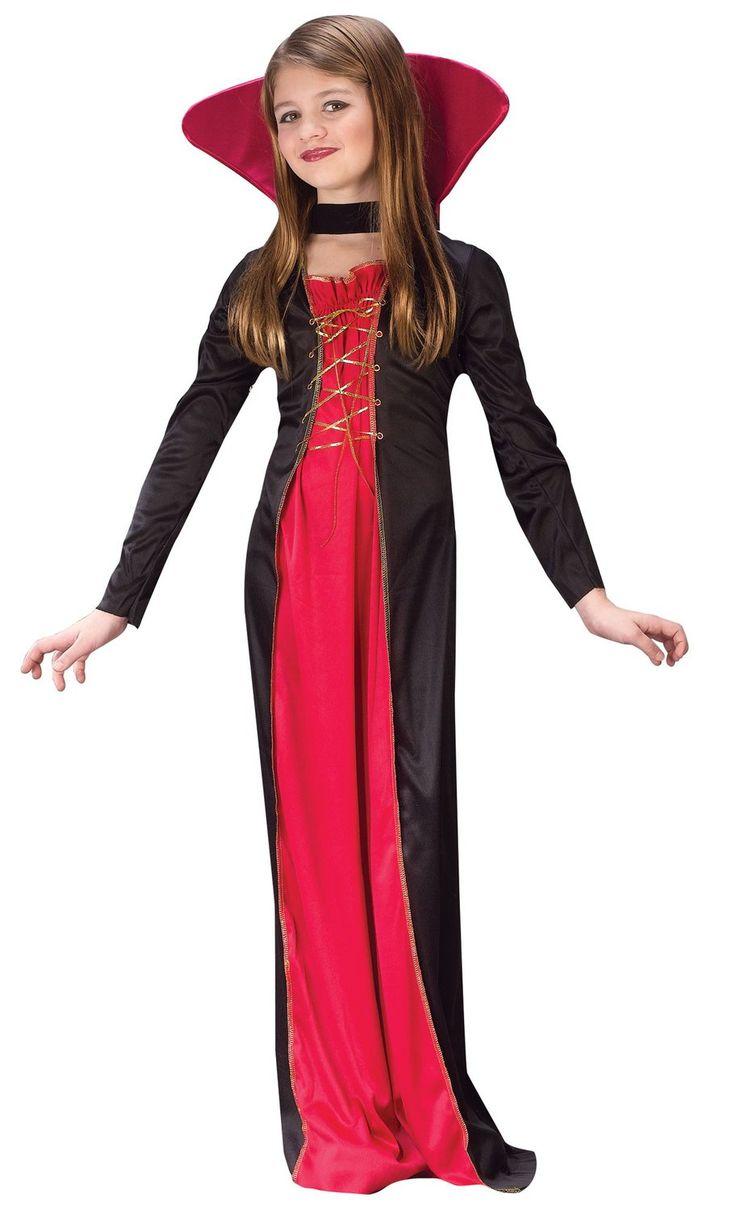 Dracula clipart halloween vampire costume Best on girl tween Victorian