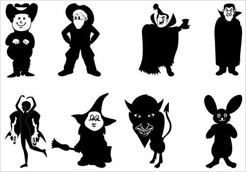 Phanom clipart demon Halloween Halloween Art Silhouette on