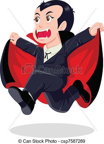 Dracula clipart logo Of csp7587289 Cartoon of Dracula