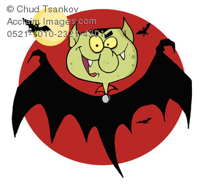Dracula clipart moon The Image Flying A of