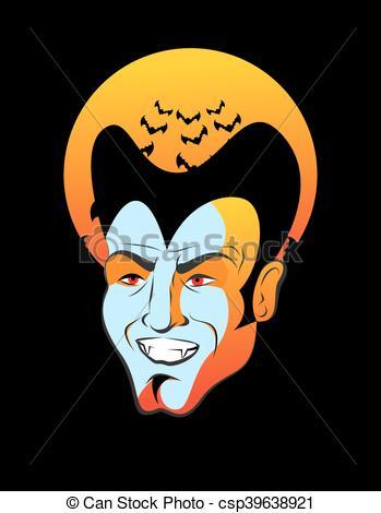 Dracula clipart moon Bats Dracula Count Vampire Illustration