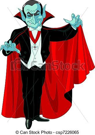 Dracula clipart vampire cape Cartoon  posing Cartoon Dracula
