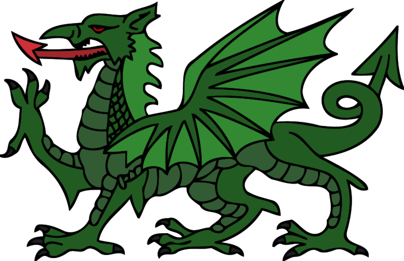 Dragon clipart Green Free Free Domain Art