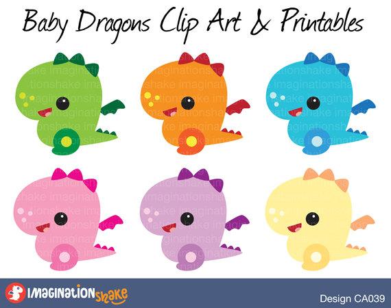 Birthday clipart dragon & Dragon  Dragons Baby