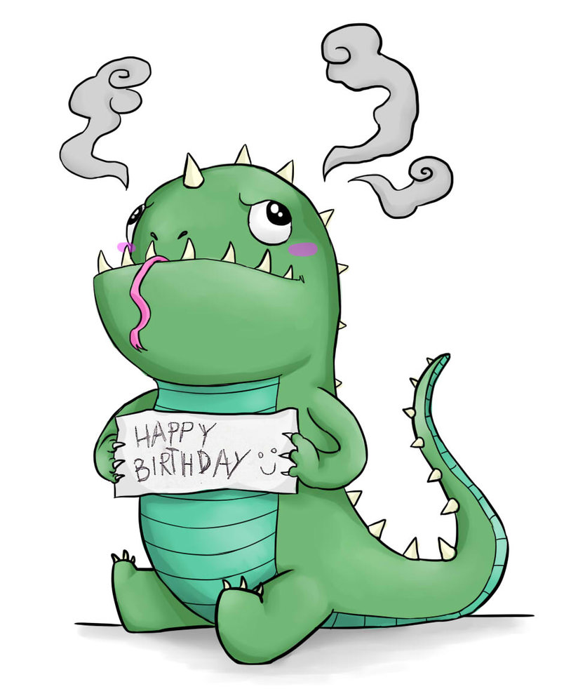 Birthday clipart dragon Of of Your Birthday How