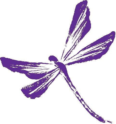 Realistic clipart dragonfly #2