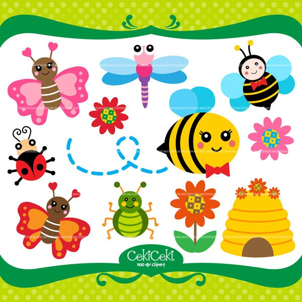 Bees clipart butterfly Bumble CE59 clipart Butterfly worhpacitol: