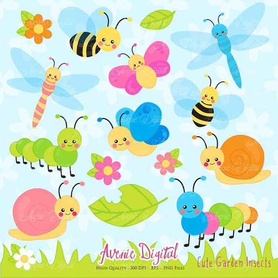 Caterpillar clipart printable #5