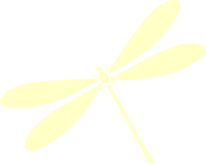 Yellow clipart dragonfly At Flight Art In Clker
