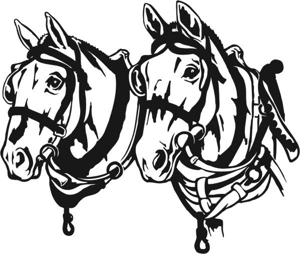 Draught Horse clipart Team Horse Draft Clipart Team