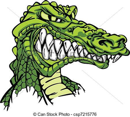 Caiman clipart wild animal Alligator  Vector Mascot Alligator