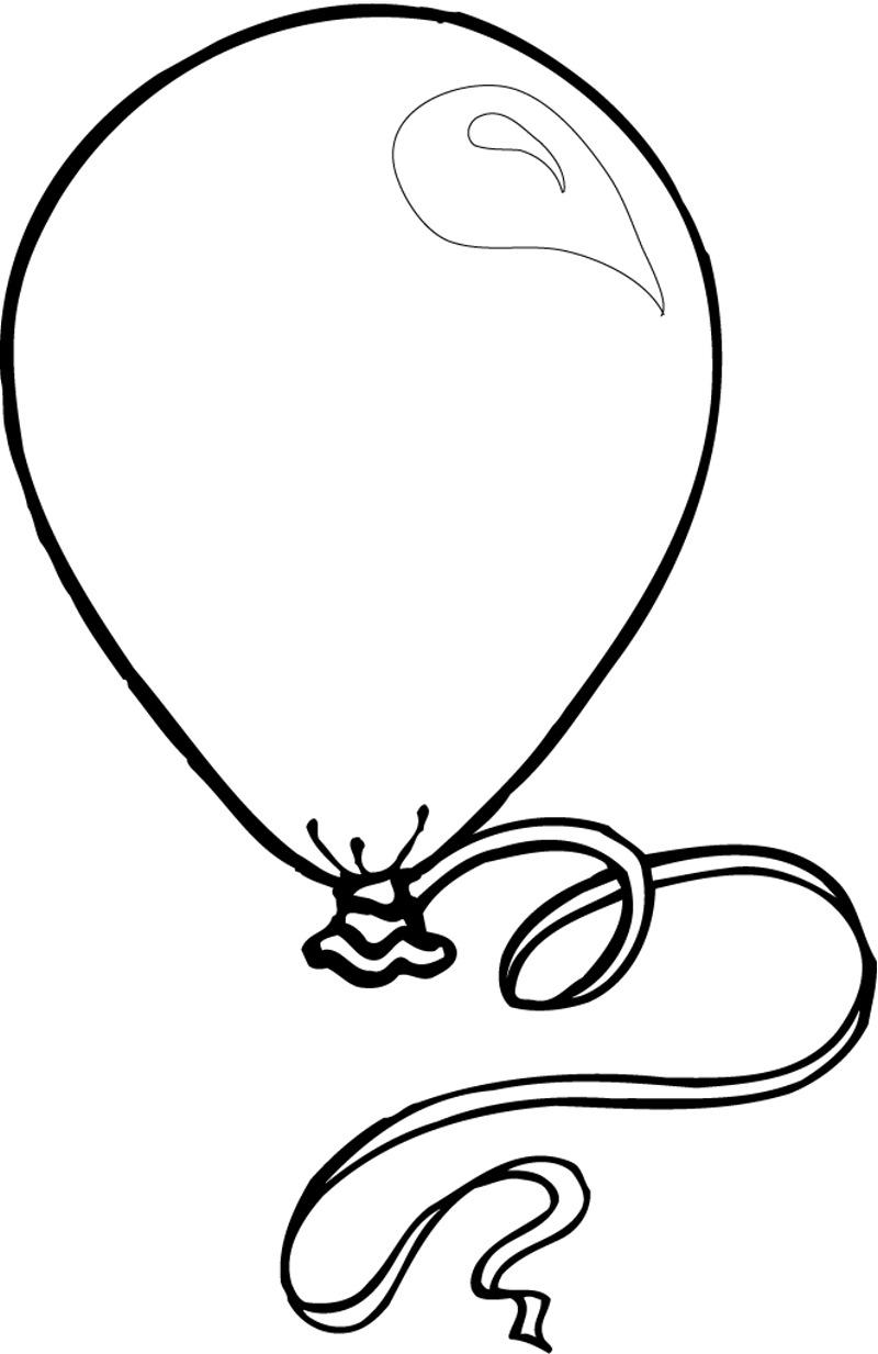 Color clipart balloon Best art Clip  Black