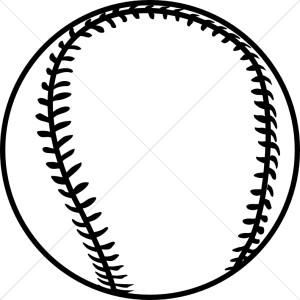 Black clipart softball Clip white white art white