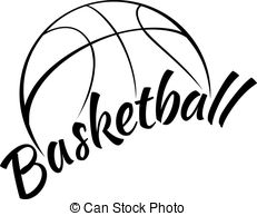 Drawing clipart basketball Illustration Clipart Basketball Text Stylized