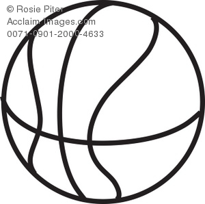 Drawing clipart basketball Drawing Basketball a Basketball Illustration