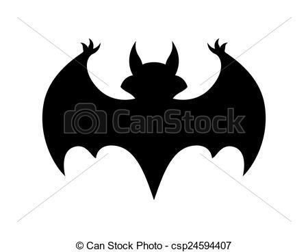 Bird clipart bat Vector Bat Vector Scary Cartoon