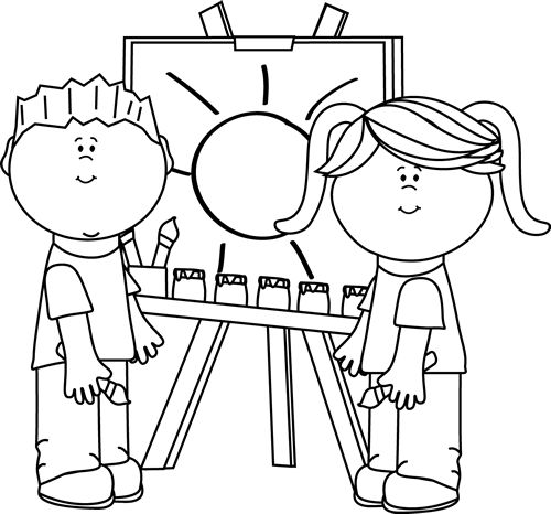 Artwork clipart black and white And Clipart And Clipart Black