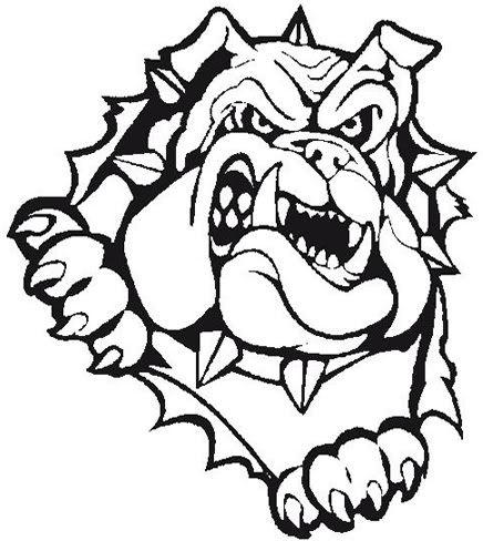 Grey clipart bulldog #10